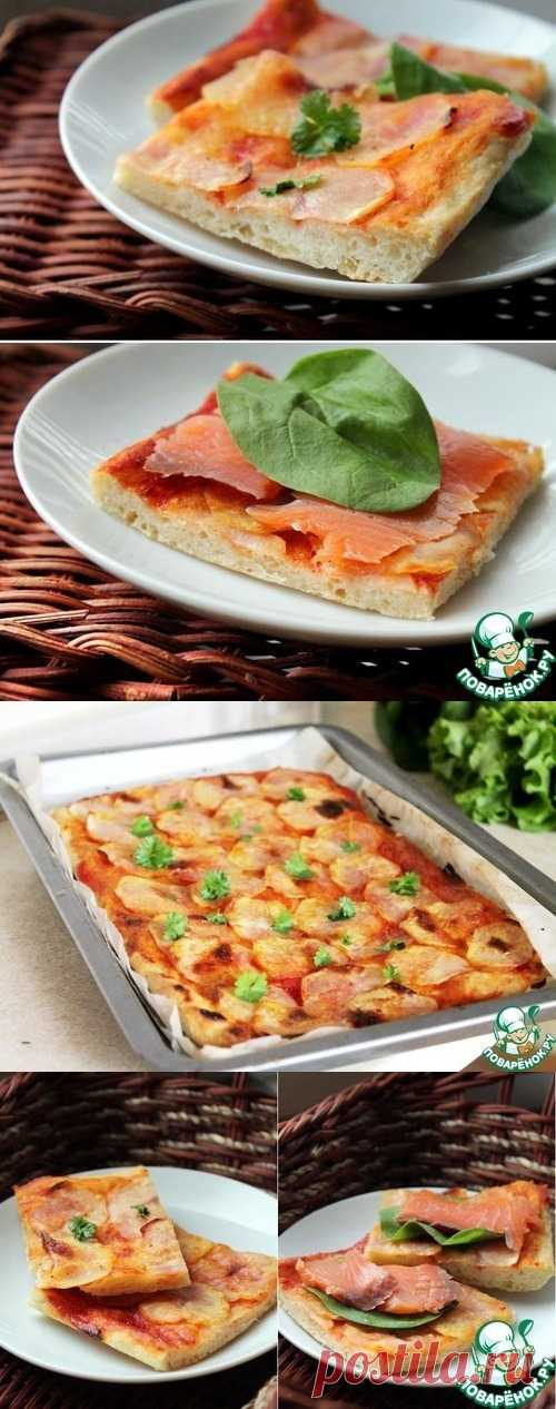 "Открытый пирог ""torta di patate"""