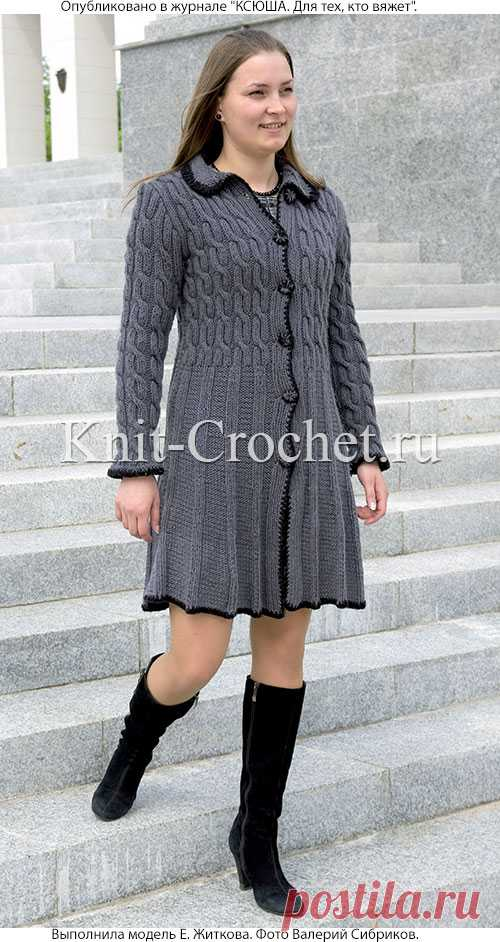 женское пальто спицами пальто для женщин спицами вязание