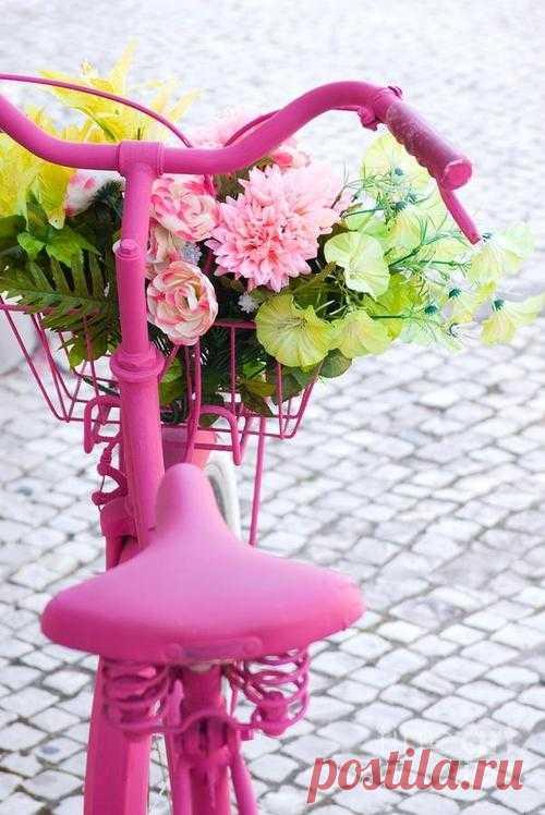 Велосипед - клумба / Авто Мото Вело / Модный сайт о стильной переделке одежды и интерьера