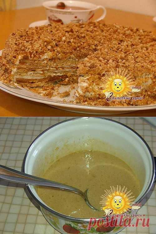 Медовый торт, очень вкусный