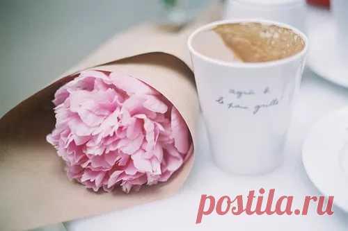 Утро... очень важное время... часто от него зависит настрой на весь день... Пусть ваше утро будет волшебным, а день добрым!