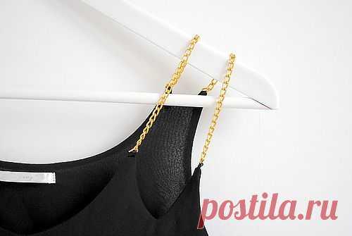 Интересная деталь на майке*2 / Детали / Модный сайт о стильной переделке одежды и интерьера