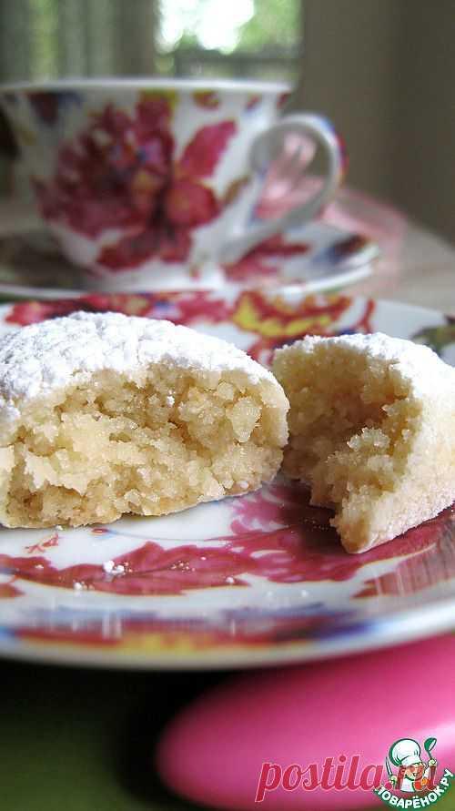 """Миндальное печенье """"Голубки""""-""""Colombelle"""" Автор: GreenTea"""