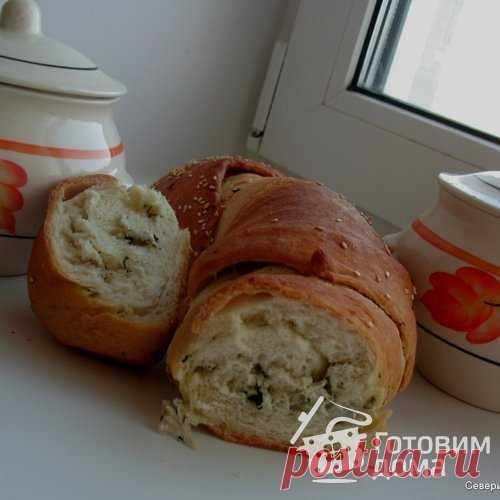 Ароматный хлеб с чесночным маслом - пошаговый рецепт с фото на Готовим дома