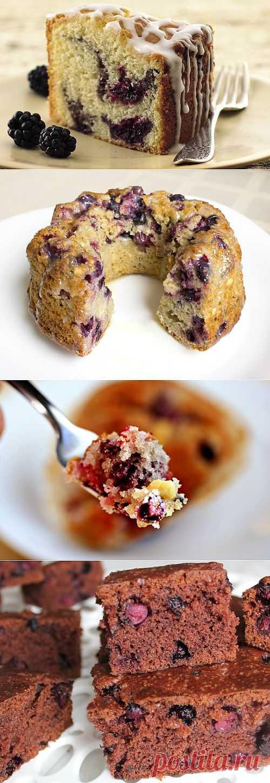 Кексы с фруктами и ягодами – сладкий праздник для всей семьи! / Простые рецепты