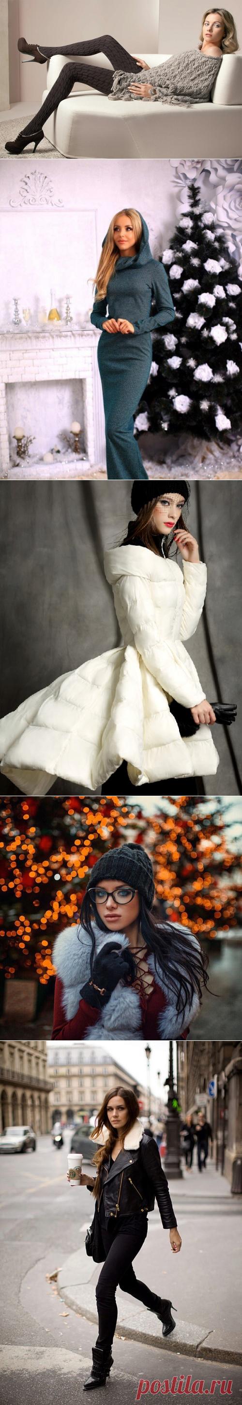 Каким должен быть модный зимний гардероб 2018-2019: фото, советы, модные тренды