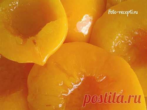 Компот из персиков - Фото-рецепты пошагового приготовления