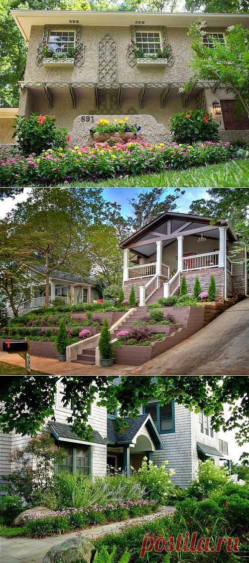 Дизайн входа в дом — 11 идей для оформления сада