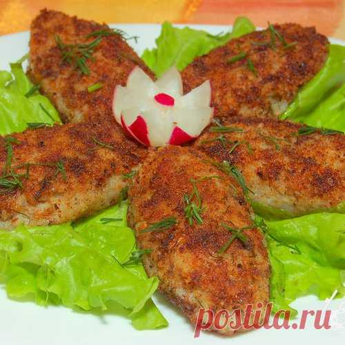 Fish canned food cutlets