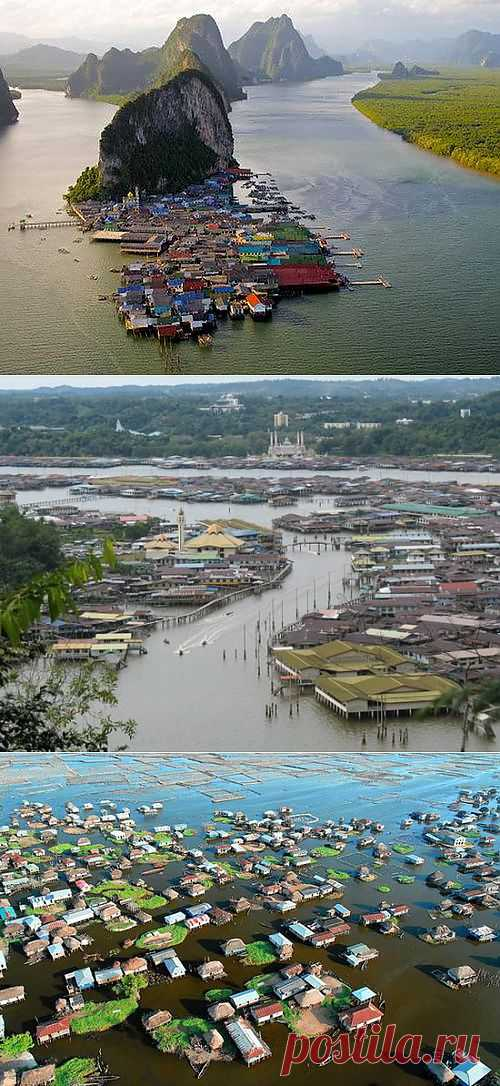 (+1) тема - 10 невероятных водных городов и деревень | НАУКА И ЖИЗНЬ