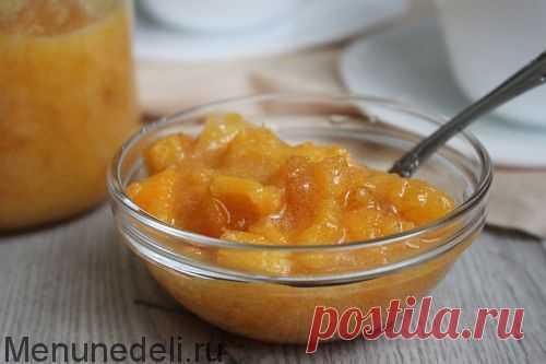 Рецепт варенья из хурмы с лимоном | Меню недели