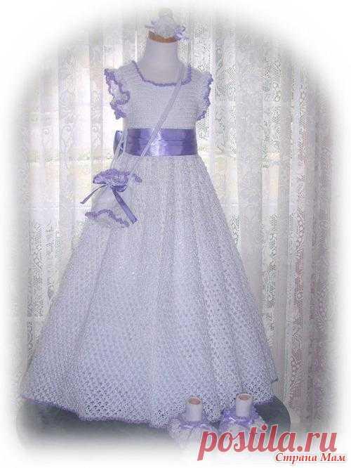 Красивые платья для девочек (идеи из интернета).