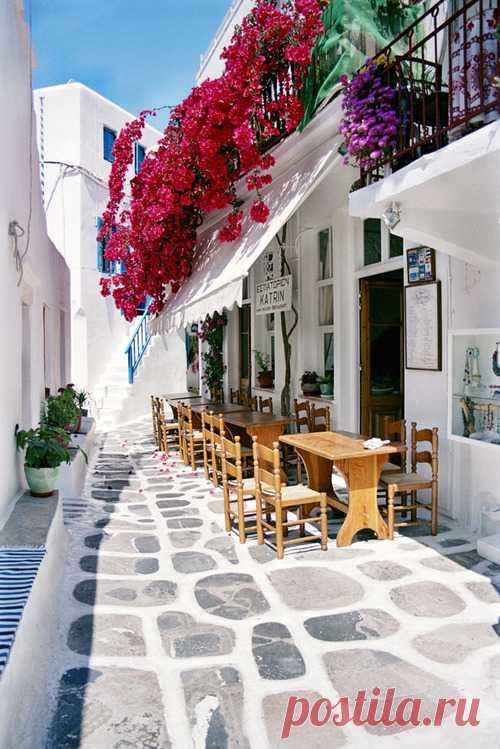 Здесь отдыхают богатые и знаменитые. Остров Миконос, Греция