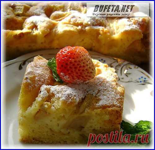 Cамый вкусный пирог с яблоками) - Простые рецепты Овкусе.ру