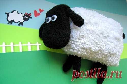 Шьем клевую овечку. (Описание по клику на картинку).