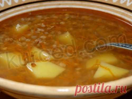 RECIPES   Dietary buckwheat soup