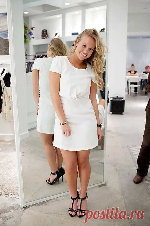 Чудесное платьице / Изменение размера / Модный сайт о стильной переделке одежды и интерьера