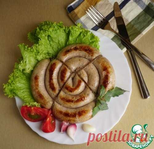 Сочная колбаса из индюшиного бедра – кулинарный рецепт