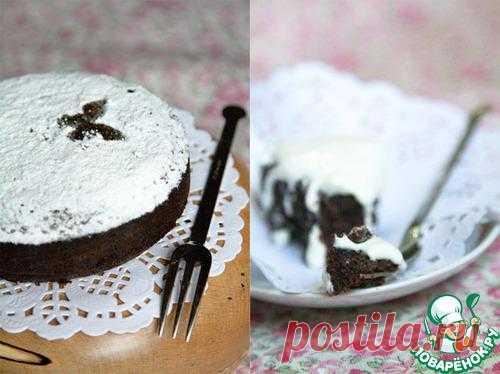Черемуховый торт с миндалем. Автор: skyfuntik