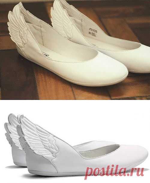 ... и полетела! / Обувь / Модный сайт о стильной переделке одежды и интерьера