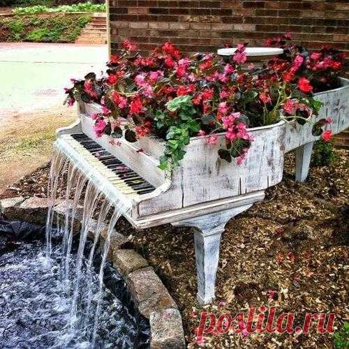 Креативные идеи по оформлению сада