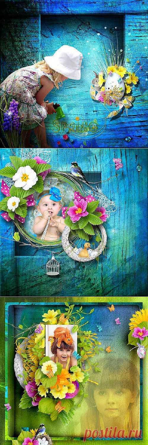 Цифровой скрап-набор - Весёлая весна » RandL.ru - Все о графике, photoshop и дизайне. Скачать бесплатно photoshop, фото, картинки, обои, рисунки, иконки, клипарты, шаблоны.