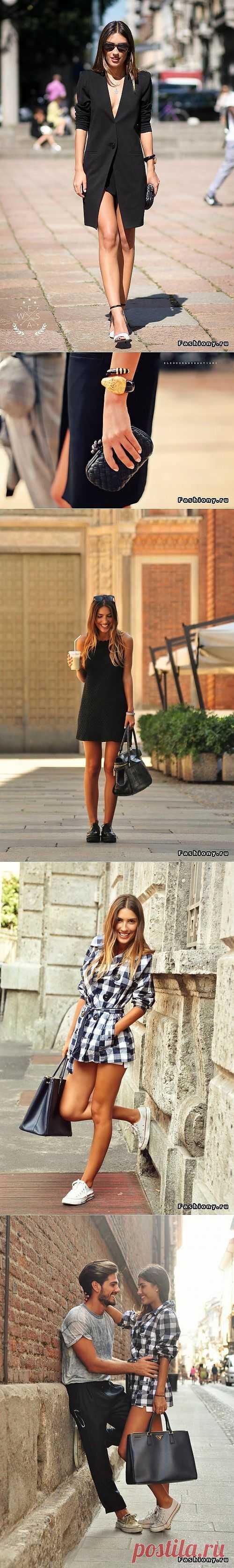 Patricia Manfield, итальянский блоггер родом из России