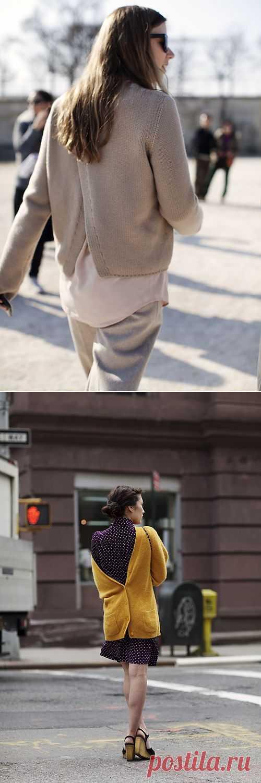 Спина на улице (трафик) / Street Style / Модный сайт о стильной переделке одежды и интерьера