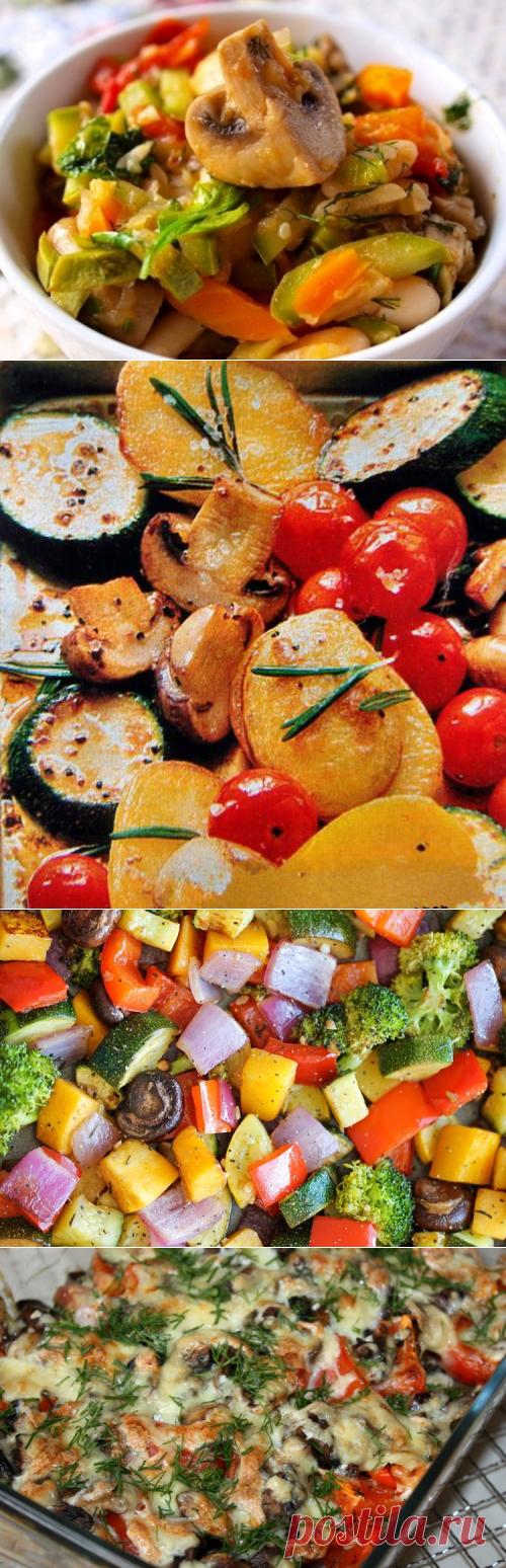 Горячие блюда из овощей и грибов / Простые рецепты