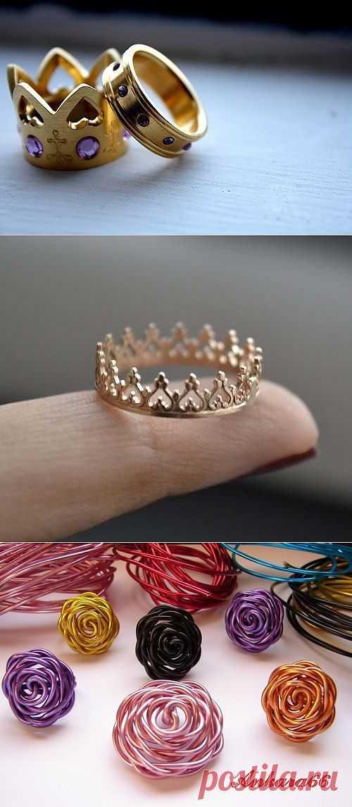 Четыре кольца и один мастер-класс / Украшения и бижутерия / Модный сайт о стильной переделке одежды и интерьера