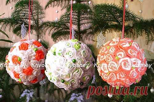 Декоративный шар / Мастер классы по декору / PassionForum - мастер-классы по рукоделию