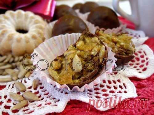 Конфеты «Метеорит» с семечками - Пошаговый рецепт с фото | Десерты