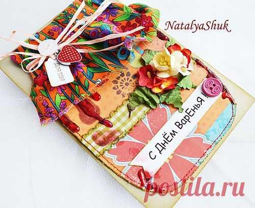 """Вдохновение: МК для скетчей """"Как я делаю варенье на открытках"""" :)))"""