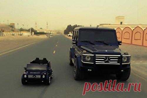 Детский Mercedes-Benz G55 AMG - $460 на Fancy