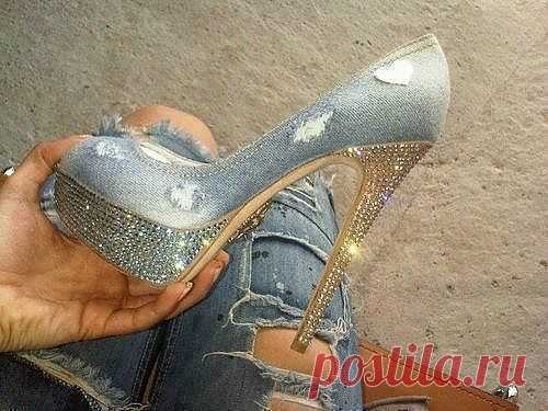 Туфелька / Обувь / Модный сайт о стильной переделке одежды и интерьера