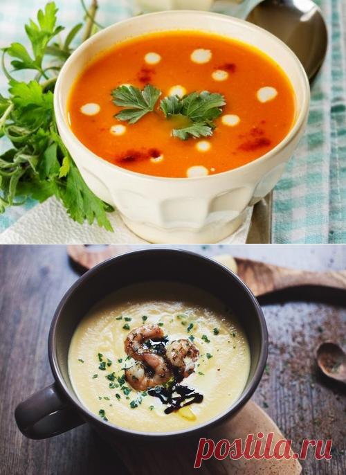 Для тех, кто любит кремовые супы! Топ-5 безумно вкусных и диетических супов-пюре