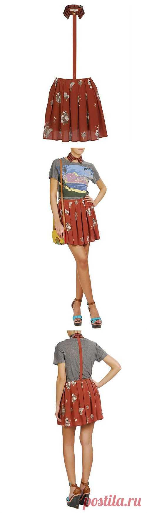Юбка-воротник за 587$ / Вещь / Модный сайт о стильной переделке одежды и интерьера