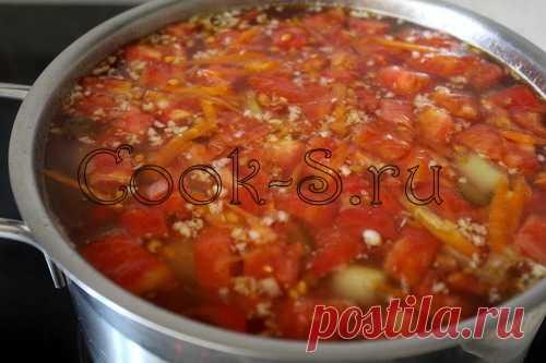 Овощной суп с кабачками - Пошаговый рецепт с фото | Первые блюда