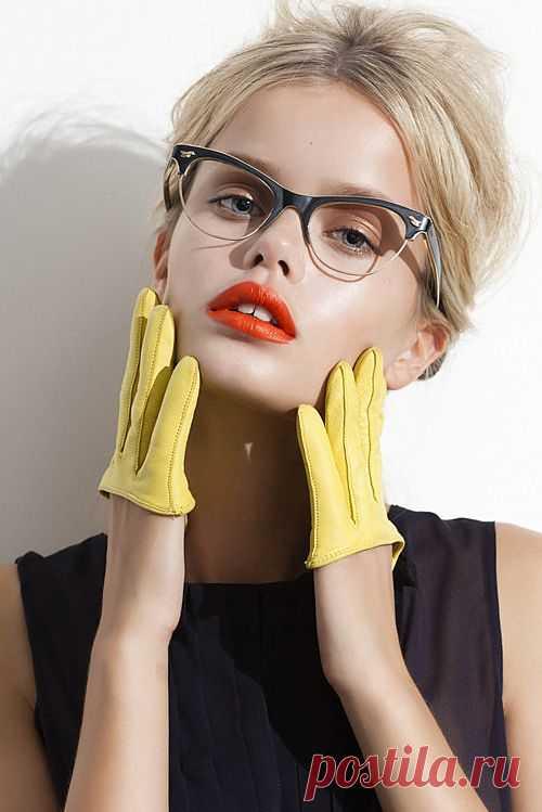 Митенки наоборот / Перчатки и варежки / Модный сайт о стильной переделке одежды и интерьера