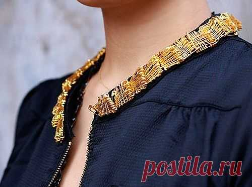 Воротничок блузки / Блузки / Модный сайт о стильной переделке одежды и интерьера