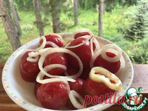 Маринованные помидоры вкуснейшие - кулинарный рецепт