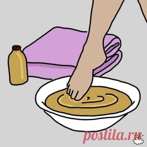 Замочите ноги в уксусе один раз в неделю - и увидите, как исчезают все ваши болезни!
