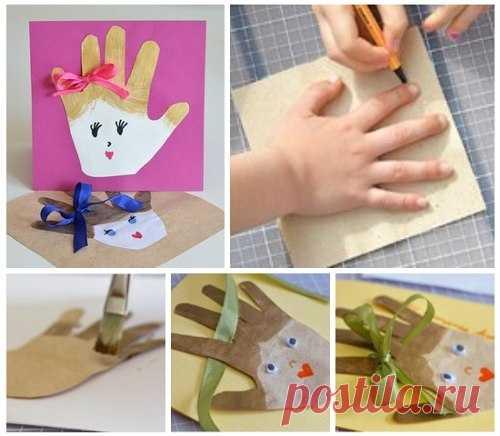 Что подарить маме своими руками от ребенка