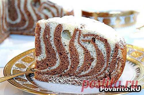 Кекс Зебра в мультиварке Redmond » Povarito.Ru - Рецепты. Блюда. Вкусные решения. Пошаговые фото-рецепты