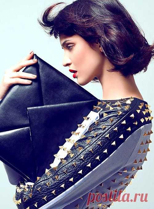 Клепки на костюме / Декор / Модный сайт о стильной переделке одежды и интерьера