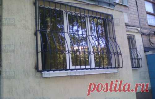 Решетки на окна в Харькове от 550 грн м2
