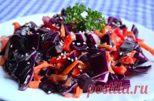 Салат из капусты по-корейски | Рецепты для вас