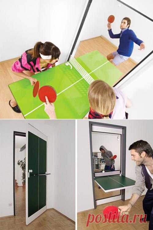 Пинг-понг двери