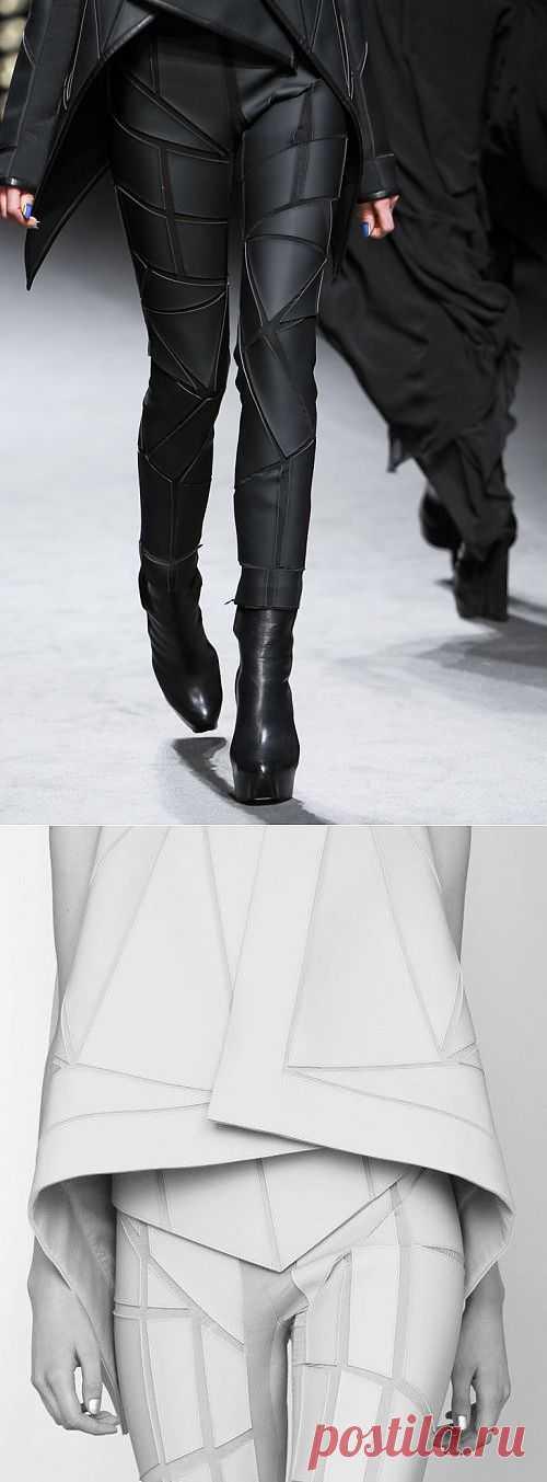 Брюки Gareth Pugh Fall 2011 / Фактуры / Модный сайт о стильной переделке одежды и интерьера