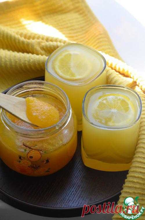 тыквенный кисель с лимоном